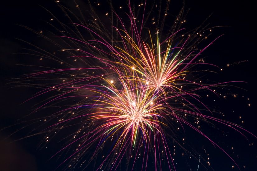 Fireworks Texas Freshwater Fisheries Center;Image from KYTX-TV, Tyler