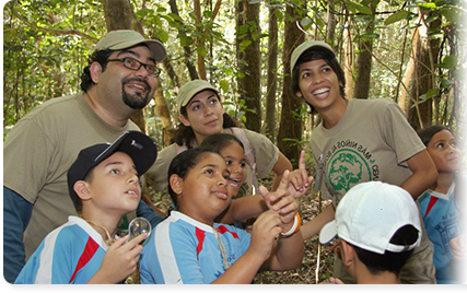 Engaging the Outdoors, Image courtesy www.projectwild.org