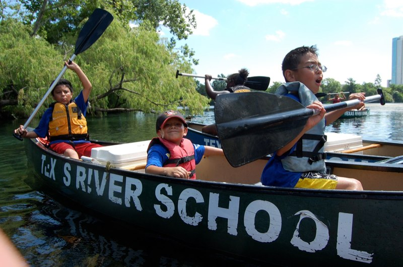 Texas River School; image courtesy https://www.facebook.com/TexasRiverSchool