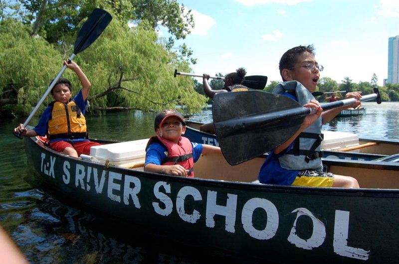 Texas River School; image courtesy https://www.facebook.com/TexasRiverSchool