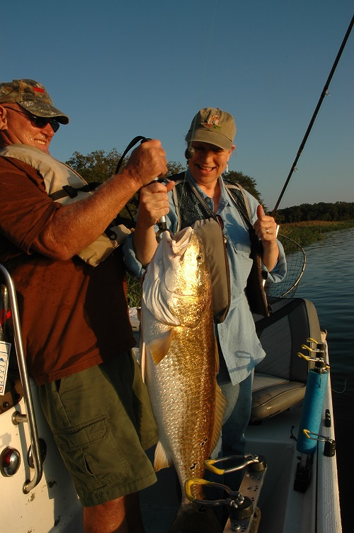 Catching Redfish