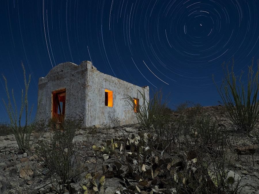 The stars at night....