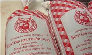 Ground venison Hunters for the Hungry Program