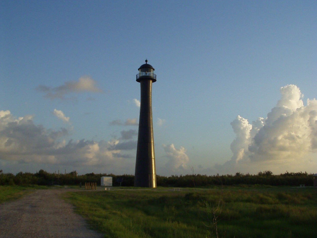 Matagorda Island Lighthouse at sunrise