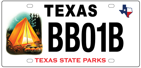 New State Park Tent Plate