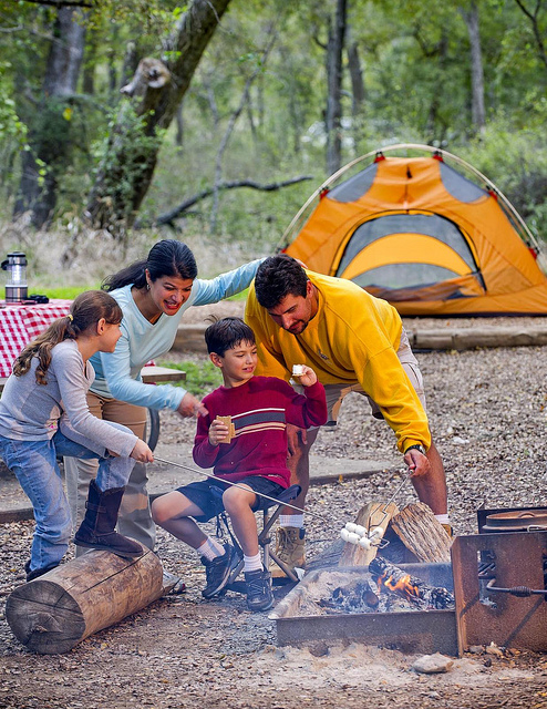 Family Camping in Texas