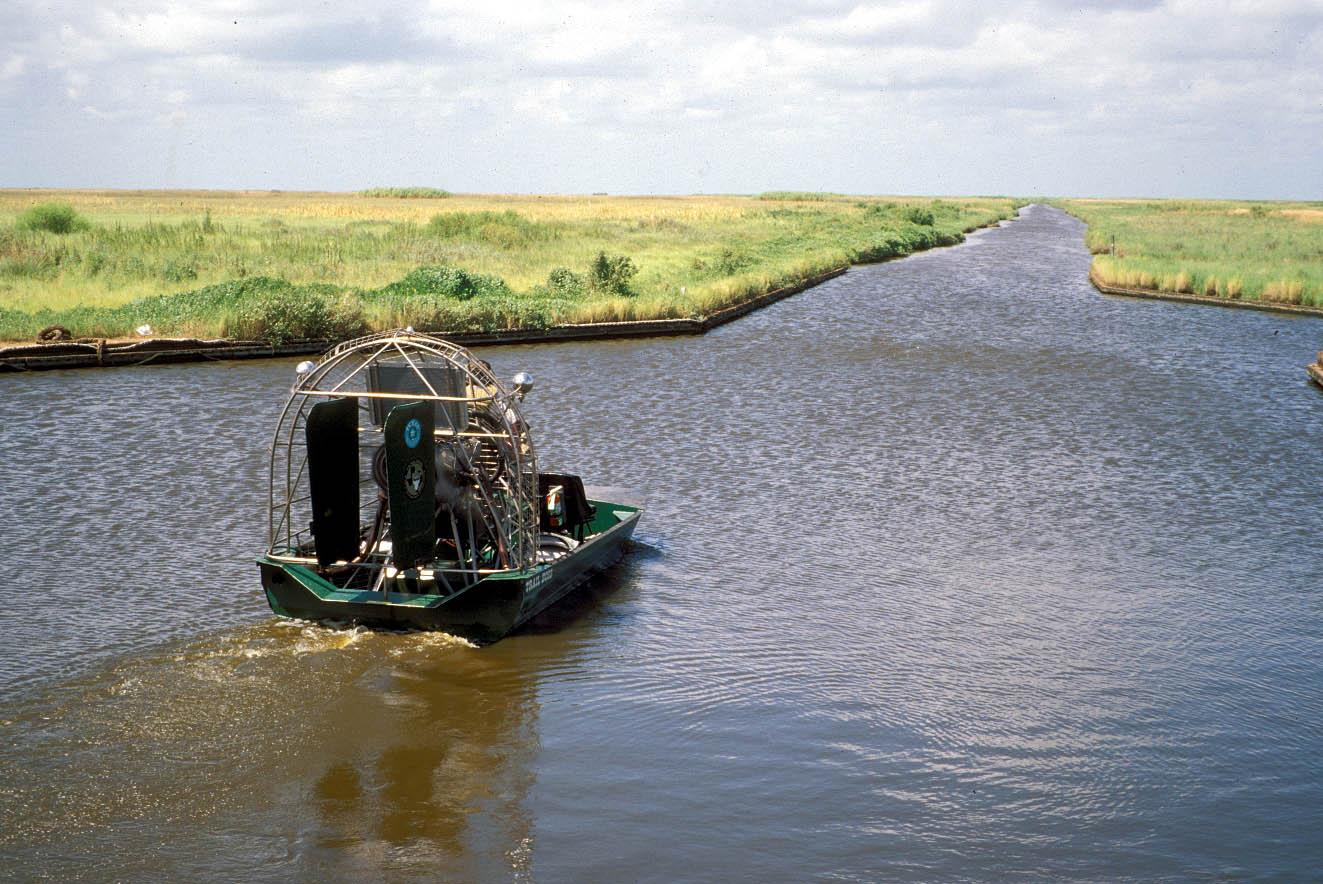 Air boat at Sea Rim