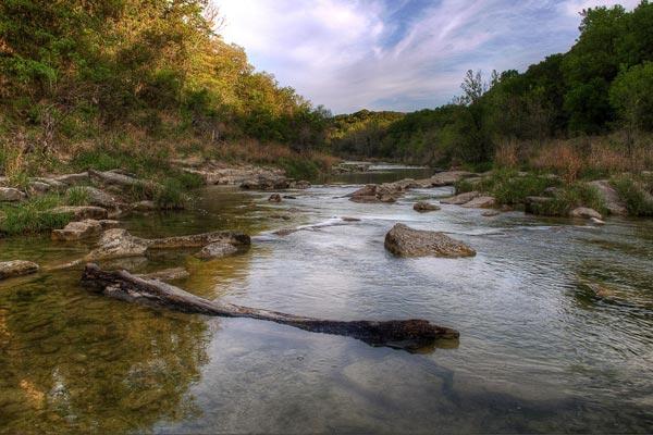 Dinosaur Valley State park, Paluxy River.