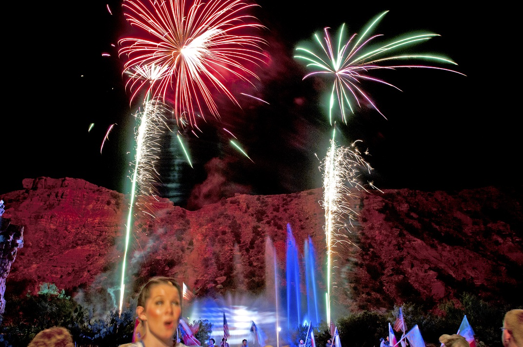 Fireworks in State Parks