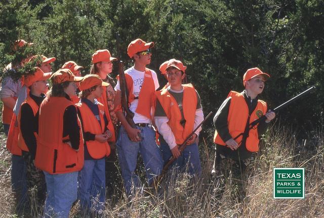 Hunter Education field class.