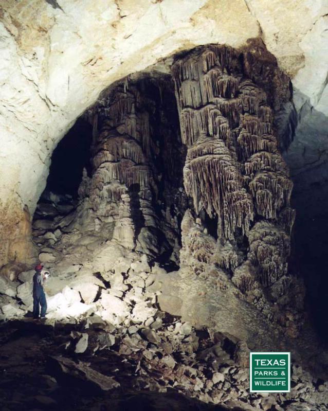 Inside Kickapoo Cavern
