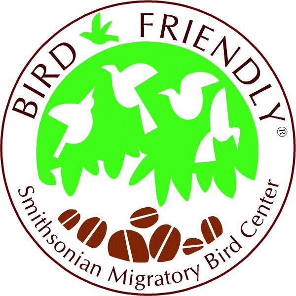 Bird Friendly  Coffee Seal