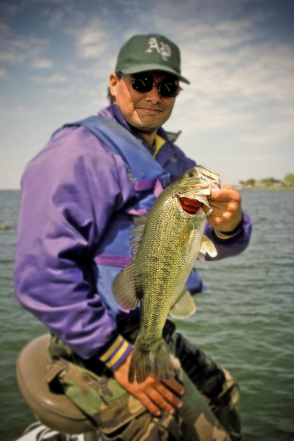 Bass Angling at Choke Canyon