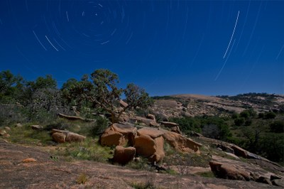 Enchanted Rock State Natural Area is a Dark Sky Park