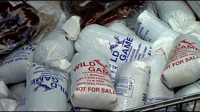 Donated Venison via Hunters for the  Hungry program, Image courtesy of http://www.newschannel10.com/