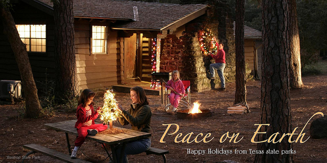 Merry Christmas from Texas State Parks.