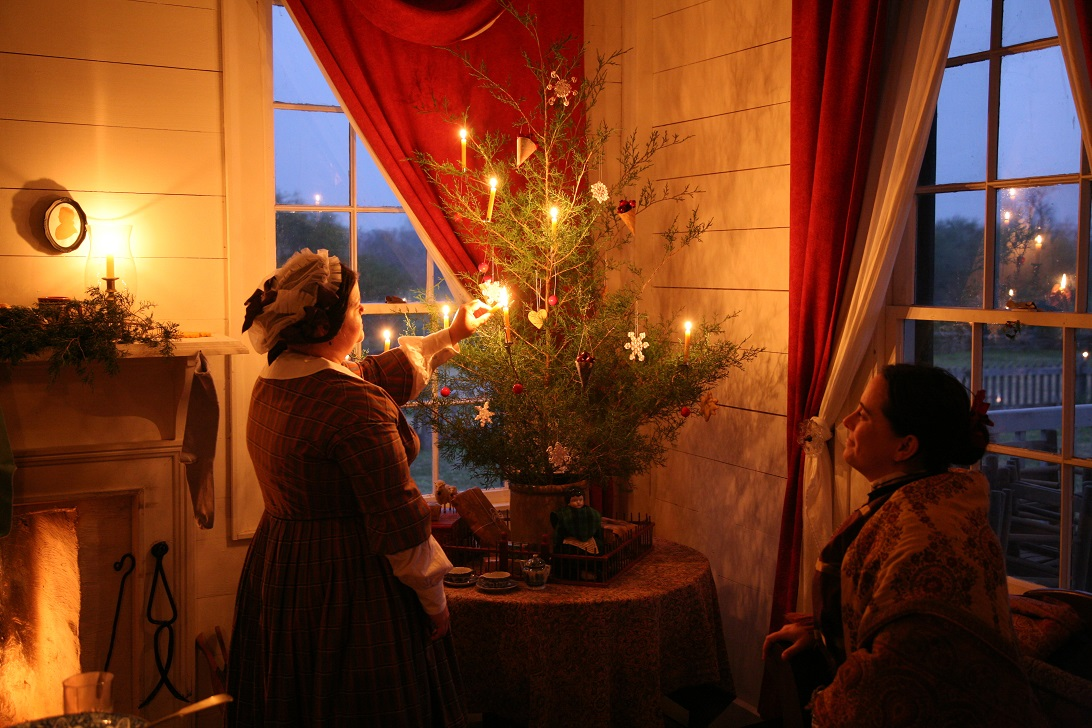 Old time Christmas at Texas Historic Sites