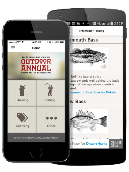 TPWD Texas Outdoor Annual App