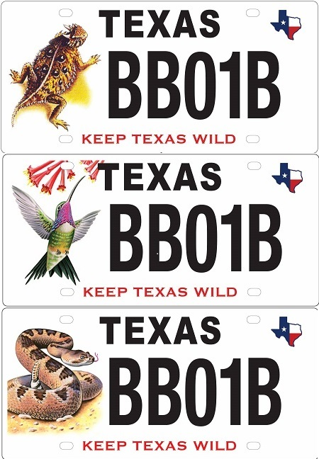 Conservation License Plates