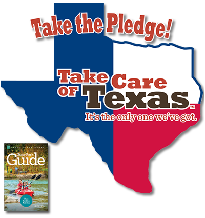 Take the Pledge and take Care of Texas