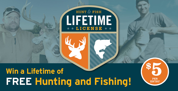 Lifetime License Drawing
