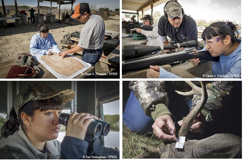 Stephanie Salinas' first hunt.