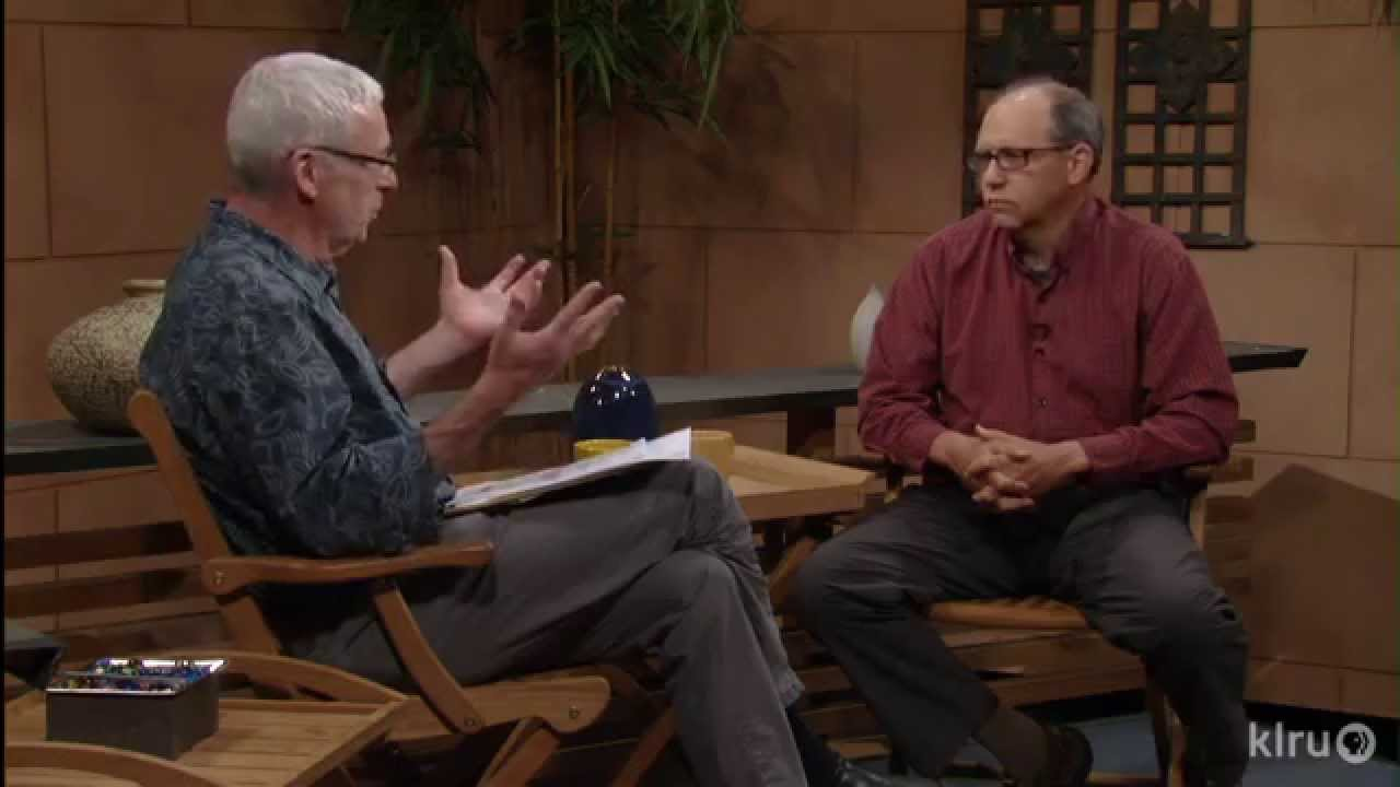 Mike Quinn on Central Texas Gardener with Tom Spencer. Photo credit: KLRU-TV, Austin