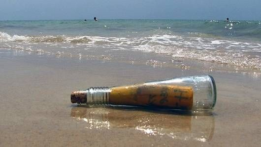 Message in a bottle. Photo credit: funtik.cat flickr