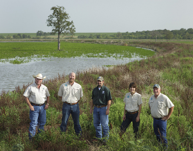 Richaland Creek WMA Team