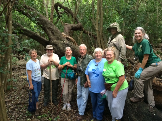 Master Naturalists in their element. Photo courtesy Texas Master Naturalists' Facebook Page