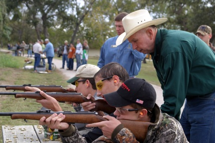 Learning to shoot during Hunter Education