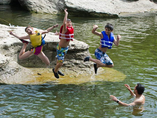 Fun in the water at state parks.