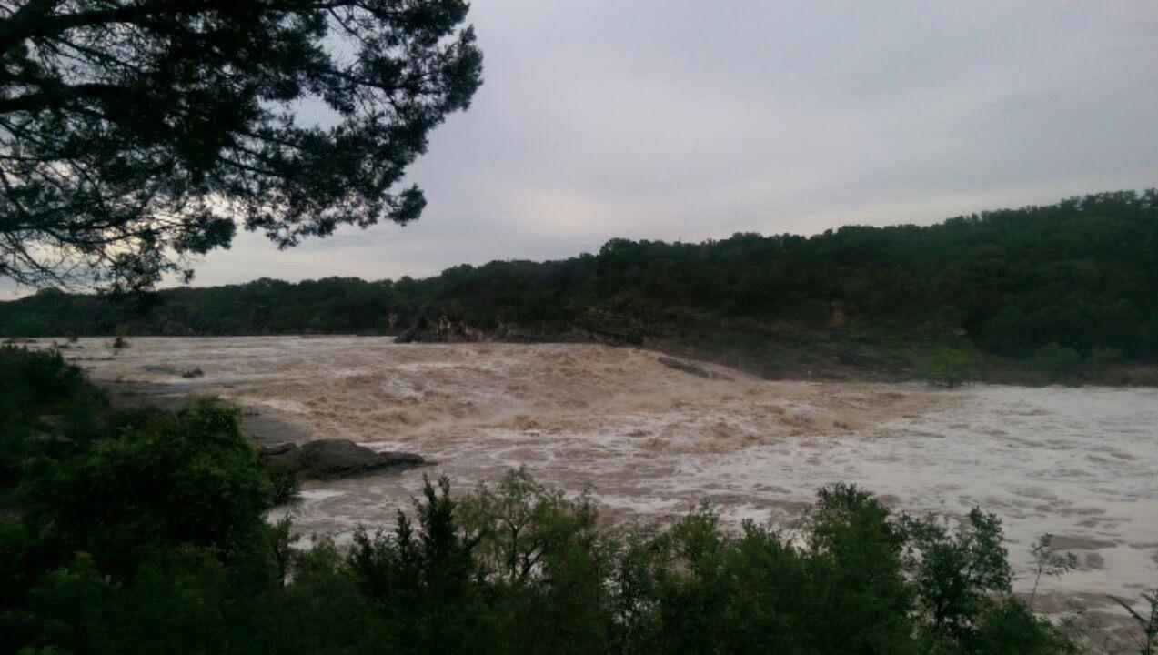 Pedernales Falls Flooding