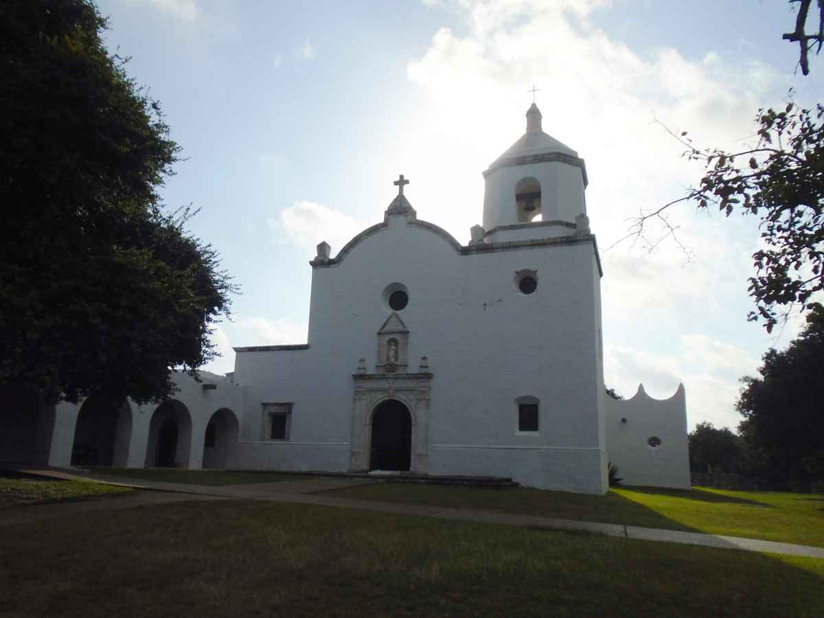 Chapel at Goliad State Park and Historic Site