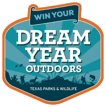Win your dream year outdoors with Texas Parks and Wildlife.