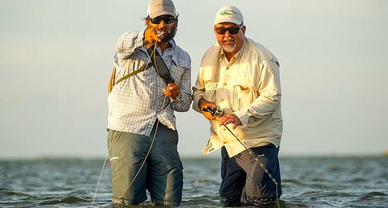 You could be saltwater fishing in Matagorda Bay.