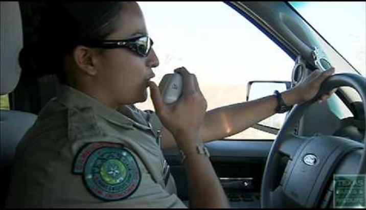 Game Warden on the trail of a poacher.
