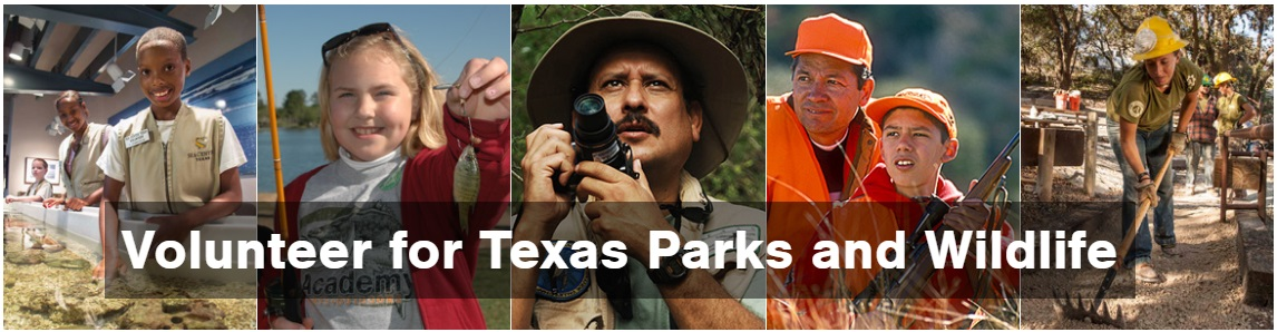 Volunteer at Texas State Parks