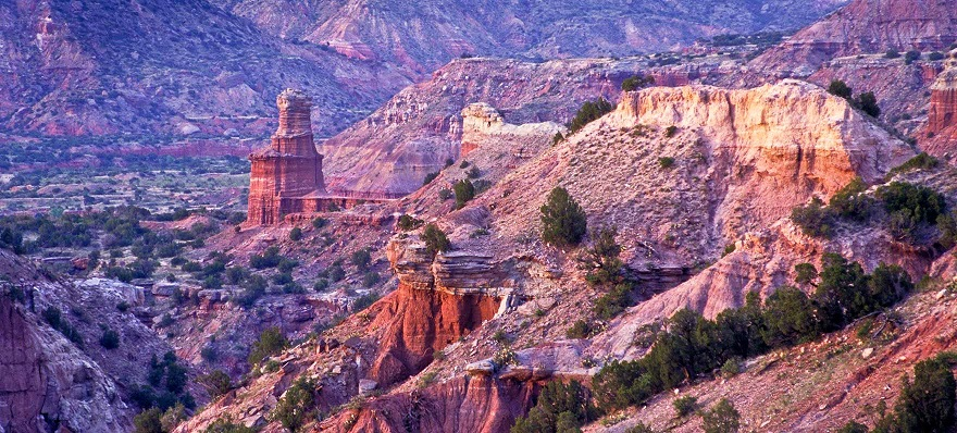 Palo Duro Canyon, Lighthouse Peak.