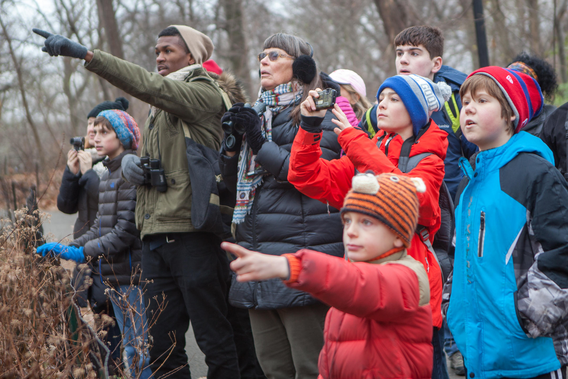 Christmas Bird Count participants. Photo: Camilla Cerea/Audubon