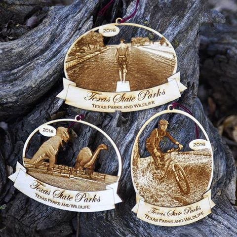New State Park Holiday Ornaments