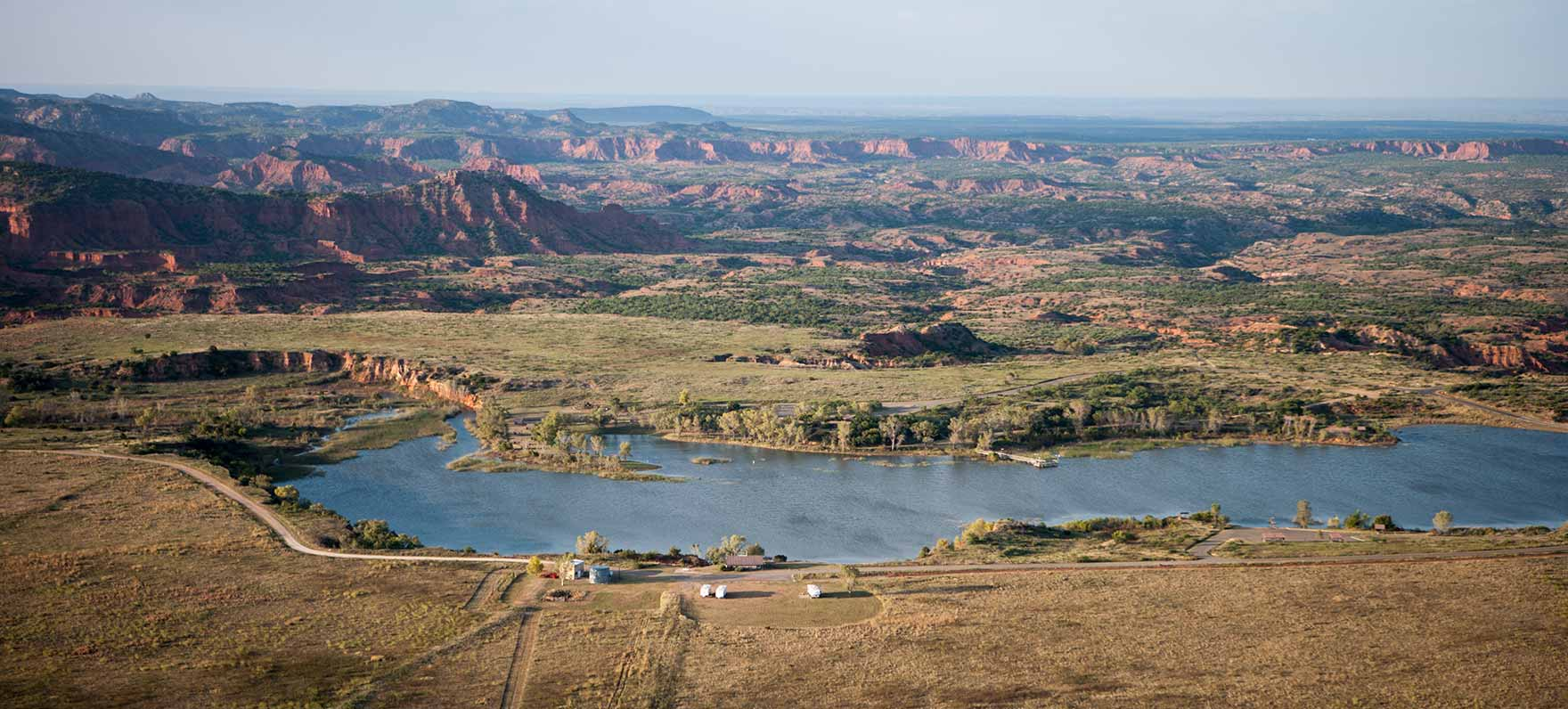 Caprock Canyons State Park-- a great place for nature photography.