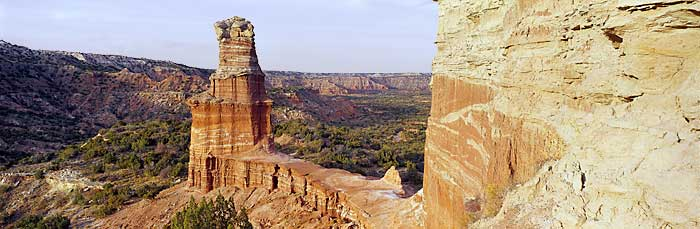 Palo Duro Canyon, where Lindsay Stroup is a Park Host.