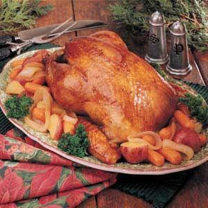 Roasted Wild Turkey Recipe photo by Taste of Home