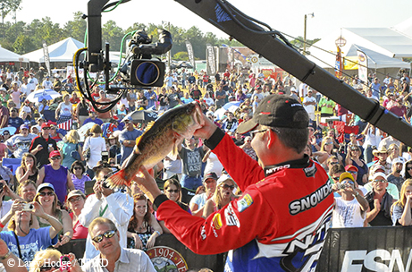 Largemouth bass are the stars of the show at the Toyota Texas Bass Classic, which this year has become the Toyota Bassmater Texas Fest.