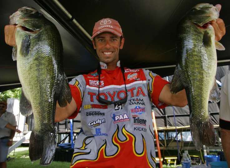 Mike Iaconelli during the 2006 season. [Image from www.bassmasters.com]