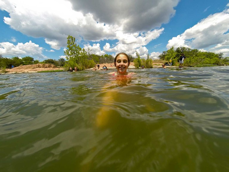From spring-fed rivers to Texas-sized lakes, open ocean swims to diving in a pool, Texas State Parks offer a full range of swimming options
