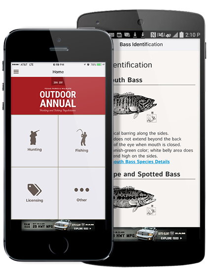 Texas Outdoor Annual App
