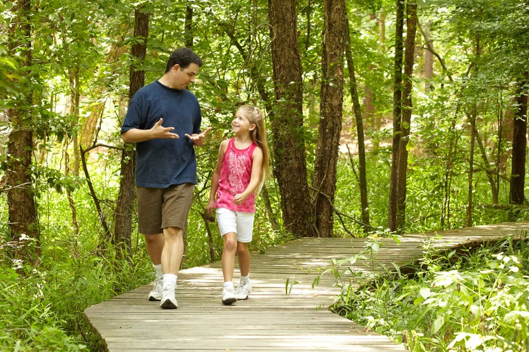 Fall is a great time to take a casual stroll or a vigorous  hike at a Texas State Park.