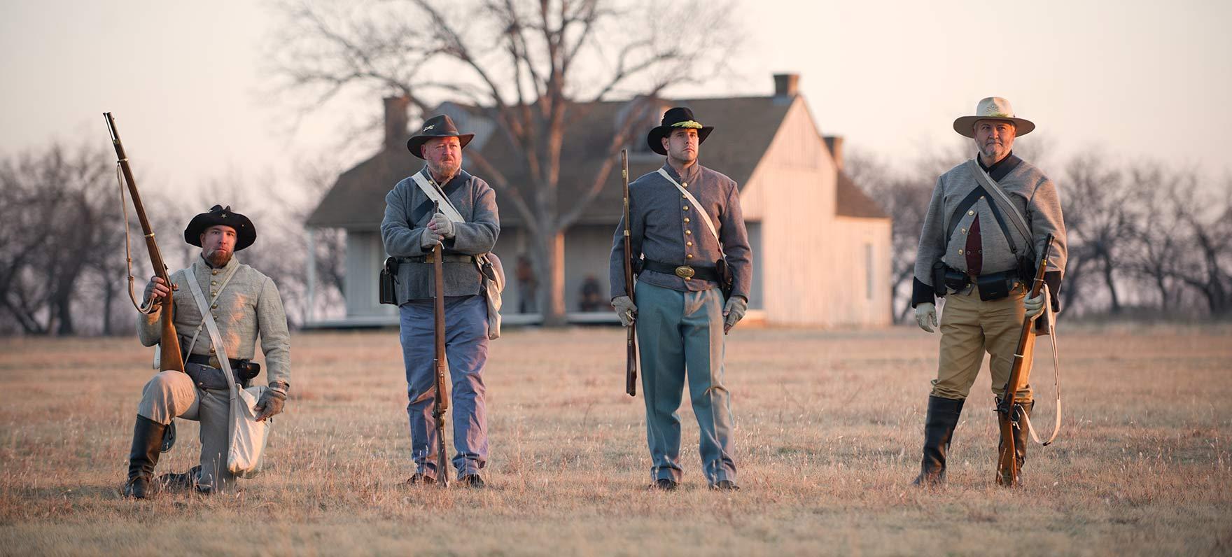 Bringing history to life at Fort Richardson.